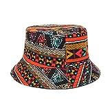 DHDHWL - Sombrero de cubo para hombre y mujer, reversible, diseño de flamenco, diseño de bob, hip hop, gorros de pesca, transpirable (color: B, tamaño: talla única)