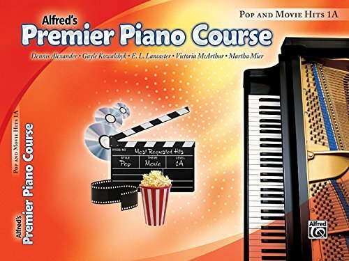 Premier Piano Course Pop and Movie Hits, Bk 1A (Alfred's Premier Piano Course) by Staff, Alfred Publishing (2010) Paperback