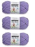 Bernat Baby Blanket Yarn (3-Pack) Lilac 161103-3320