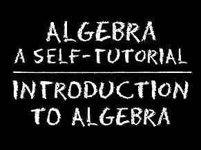 The Video Math Tutor: Algebra: Introduction to Algebra