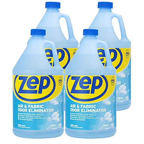 Zep Air and Fabric Odor Eliminator 128 Ounce ZUAIR128 (Case of 4) Refresh Your Home, Office and Business