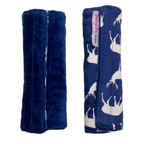 Babychic 100 Percent Cotton Strap/Harness Covers Midnight Deer