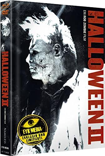 2 Disc Mediabook BR + DVD Rob Zombie Halloween 2 II (Cover G) - limitiert auf 500 Stk.