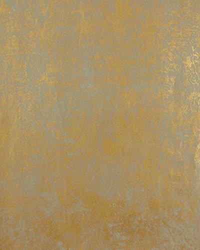 Marburg MT Vliestapete 53126 Kollektion La Veneziana 2, gold-grau metallic schimmernd