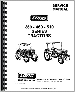 Long 445 Tractor Service Manual
