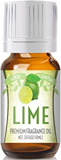 Lime Scented Oil by Good Essential (Premium Grade Fragrance Oil) - Perfect for Aromatherapy, Soaps, Candles, Slime, Lotion...