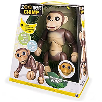 Christmas 2016 Top Toy UK Zoomer Chimp Toy