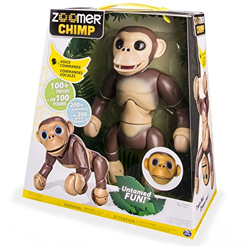 Spin Master 6034096 - Zoomer - Chimp