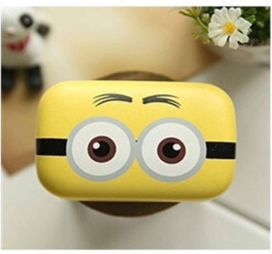 QYER Elegant Contact Lens Case Leat Eye Fort Worth Mall Cartoon Selling and selling Mini