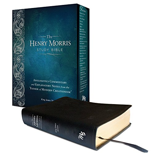 Henry Morris KJV Study Bible, The King James Version Apologetic Study Bible with over 10,000 comprehensive study notes (Genuine Leather)