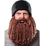 Kentop Vagabond Bonnet à barbe en tricot humoristique