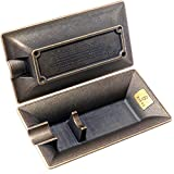 XIFEI Fashion Vintage Cigar Ashtray Bronze Color Household Cigar ashtrays Single Slot Design (Bronze)