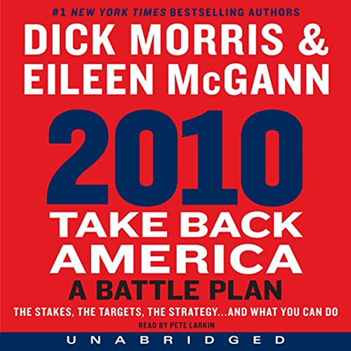 2010: Take Back America audiobook cover art