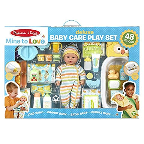 Melissa & Doug Deluxe Baby Care Play Set - Sale: $81.99 USD (18% off)