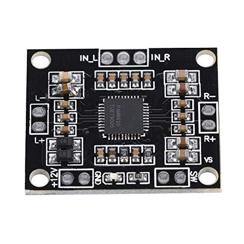 Gedourain Placa de Amplificador de Clase D, Placa de Amplificador de protección múltiple para garantizar un Sonido instalador de Chips