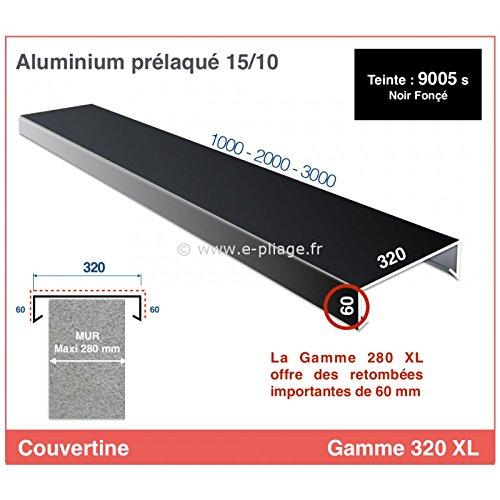 COBERTINa/CUBRE-MUR – GAMME 320 XL – Para MURET, ACROTER