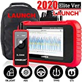 LAUNCH OBD2 Scanner CRP129E Engine/ABS/SRS/TCM Scan Tool Oil Lamp/EPB/TPMS/SAS/Throttle Body Reset,Android 7.0,Wi-fi Free Update,Auto VIN,Print Auto Report,5Yrs Warranty EL-50448(Gift)[2020Elite Ver]