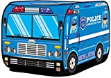 Kiddie Play Police Car Pop Up Kids Play Tent for Boys & Girls Indoor Outdoor Toy