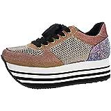 ZGR Women's Canvas Low Top Sneaker Lace-up...