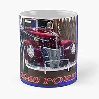 Classic Cars - Best Gift Ceramic Coffee Mugs 11 Oz