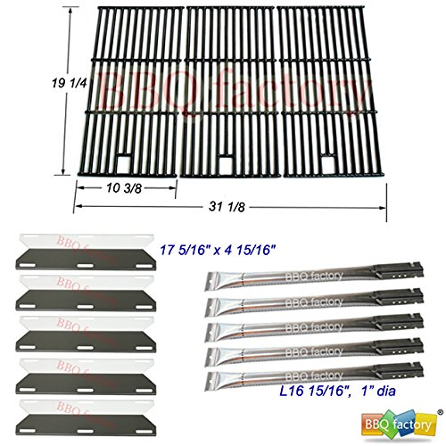 bbq factory Replacement Perfect Flame 5 Burner 720-0522, Charmglow 5 Burner,720-0396,720-0578 Gas Grill Replacement Grill Repair Kit