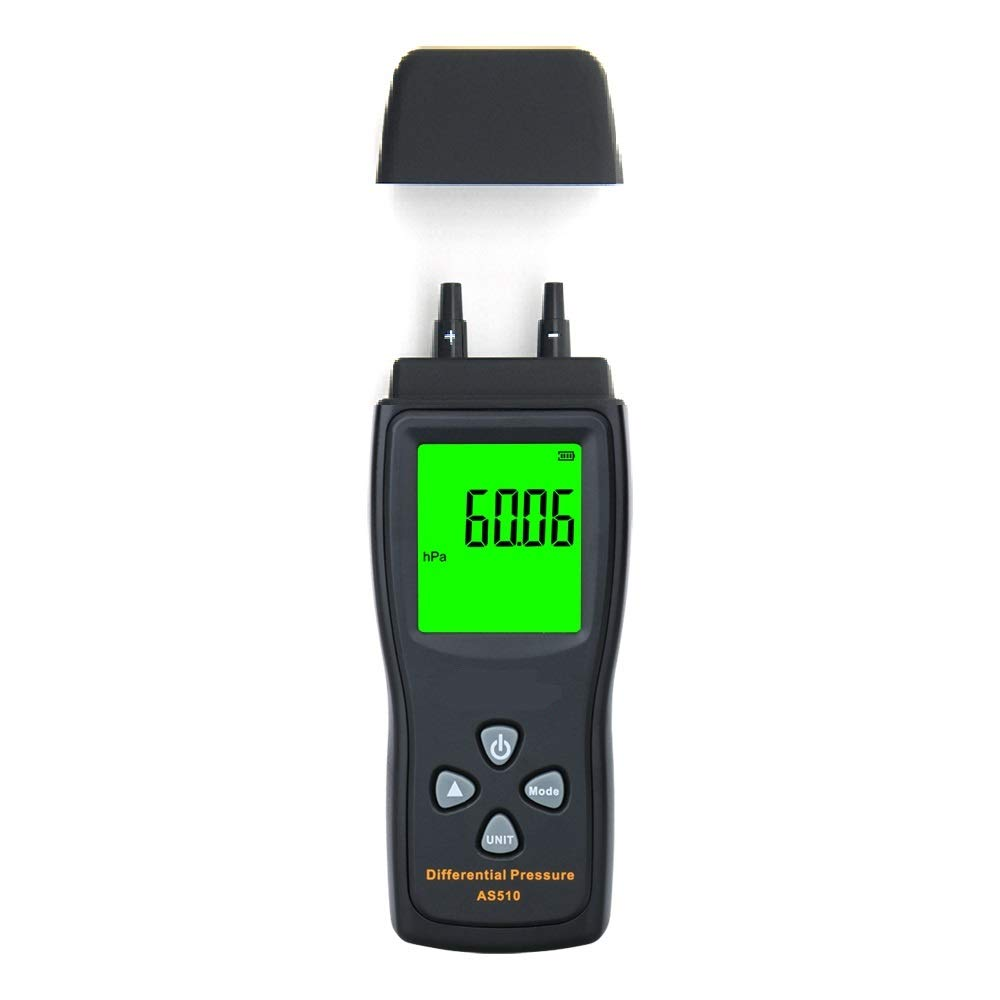 Manometer Digital Air Pressure Differential Finally resale start 0-1 shipfree Meter