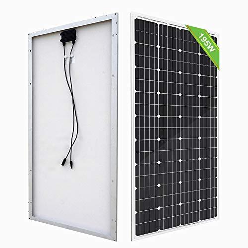 ECO-WORTHY 195W 12V Solar Panel High Efficiency Mono Module Off Grid PV...