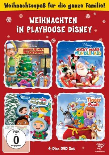 Weihnachten im Playhouse Disney (4 DVDs)