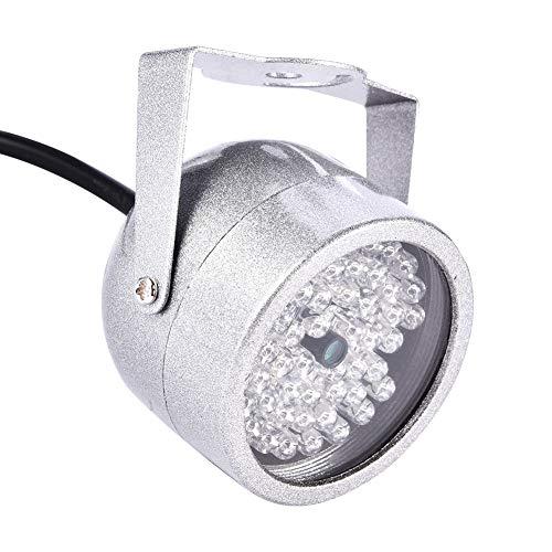 Astibym Iluminador de la cámara, luz infrarroja infrarroja de la cámara Nocturna de Baja Potencia fácil de Instalar para la cámara CCTV de Seguridad