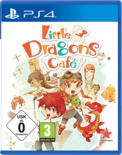 Aksys Games Little Dragons Cafe vídeo - Juego (PlayStation 4, RPG (juego de rol), E10 + (Everyone 10 +))