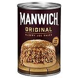 Manwich Original Sloppy Joe Sauce, Canned Sauce, 15 OZ