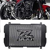 Cubierta protectora para rejilla de radiador de motor de motocicleta, de acero inoxidable, protector de rejilla de radiador de acero inoxidable, accesorios de motocicleta para Kawasaki Z900 17-19
