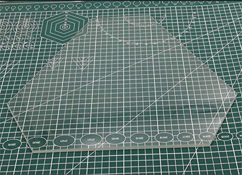 Nologo L-TAO-Pulley, 1pcs temperd Vetro/borosilicato riscaldato Letto lastra di Vetro Costruire lastra di Vetro 4 Millimetri di Spessore for Delta Wasp 2040 (Taglia : Temperd Glass)