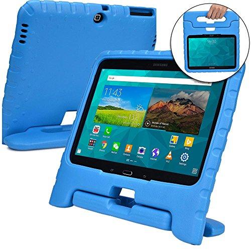 Cooper Dynamo [Custodia Rigida Cover] per Samsung Tab 4 10.1, Tab 3 10.1 | Case Tablet per Bambini Copertura Protettiva Supporto Maniglia (Blu)