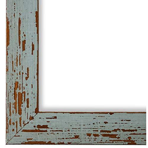 Online Galerie Bingold Bilderrahmen Türkis DINA4(21,0x29,7) - DIN A4 (21,0 x 29,7 cm) - Modern, Shabby, Vintage - Alle Größen - handgefertigt - WRF - Cremona 3,0