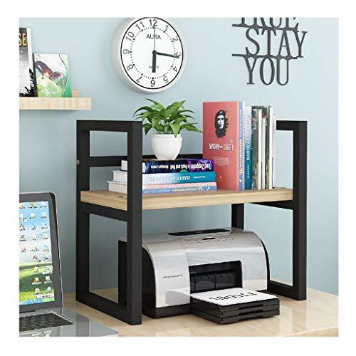 Zunruishop Druckerständer Multifunktionsdrucker-Rack Office Desktop Organizer Einfache Moderne Desktop-Bücherregal Druckertisch Storage Rack Copy-Rack Desktop-Ständer für Drucker (Color : A)