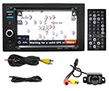 Boss BV9382NV 6.2' in-Dash Car DVD GPS Navigation Bluetooth Receiver wUSB+Camera