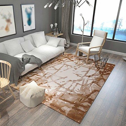 Creative Light- Nordic Modern Luxury Luxury Rectangular Rugs Bed Tapis de Salon Tapis de Chambre à Coucher (Taille : 140cm*200cm)