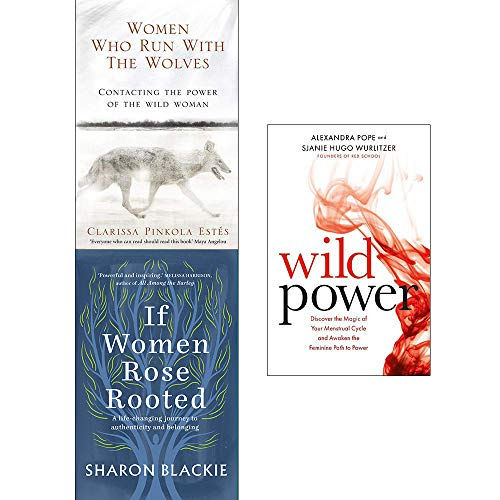Price comparison product image Women Who Run With The Wolves,  If Women Rose Rooted,  Wild Power 3 Books Collection Set