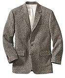 Orvis Lightweight Highland Tweed Sport Coat / Regular, Gray/Tan/White, 44