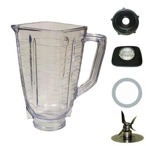 5 de la taza de tapa cuadrada 5 piezas Frasco de plástico de ...
