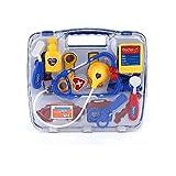 SYXX De los niños Pequeño Doctor Enfermera juguete niña niña conjunto casa del juego de Hospitales inyección Estetoscopio Caja de herramientas de simulación del Hospital Medical Kit Set Pequeño Doctor