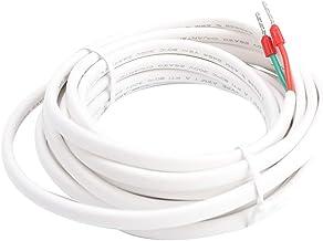 Fdit Cable de Sonda de Sensor de Temperatura de Piso Accesorio Termostato de Calefacción por Suelo Radiante de 3 Metros