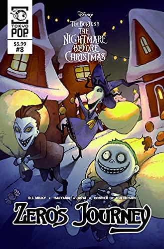 Disney Manga: Tim Burton's The Nightmare Before Christmas -- Zero's Journey Issue #08 (Zero's Journey Comic series Book 8) (English Edition)