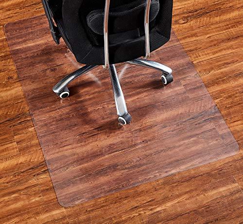 """Office Chair Mat, 48""""×36""""-2mm Thick, Chair Mat for Hardwood Floor, Desk Chair Mat, Floor Protectors for Office Chairs, Office Mat, Office Mats for Rolling Chairs, Only for Hardwood Floor"""