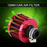 Filtro de aire El filtro de aire del coche atrapa las impurezas en el aire para el silenciador del filtro de admisión del compresor de aire(red)