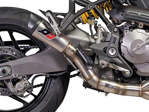 Ducati Monster 821/1200 Euro4 - Silenciador de titanio Racing