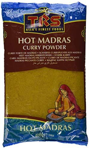 TRS Madras Scharfes Curry Pulver, 5er Pack (5 x 400 g)