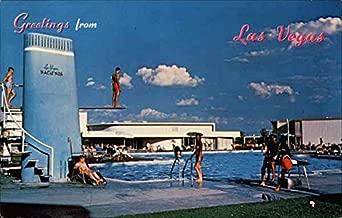 Hotel Hacienda Las Vegas, Nevada Original Vintage Postcard