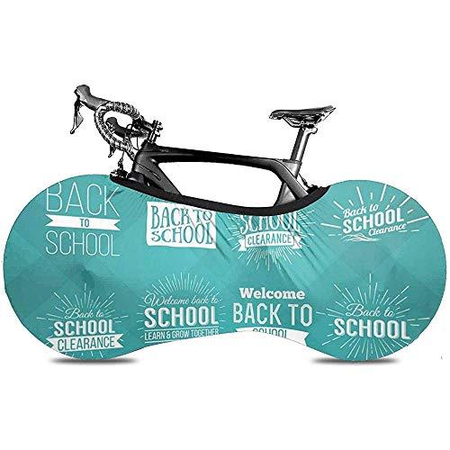 L.BAN Tapa de la Rueda de Bicicleta Sweet-Heart, Proteger el Equipo Tiza de la Cinta del neumático Regreso a la Escuela Estilo Vintage Venta Diseño Insignias Etiquetas y Pizarra Fresca